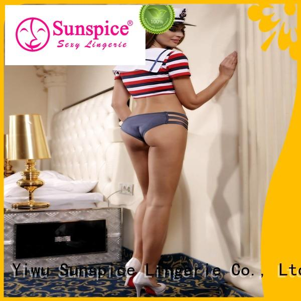 Sunspice New sexy army costume factory for adults