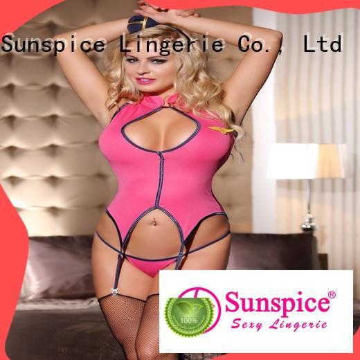 Latest sexy pilot lingerie pilot supply for female