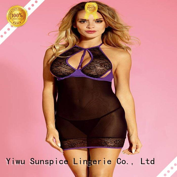 Sunspice Best underwire babydoll lingerie manufacturers for ladies