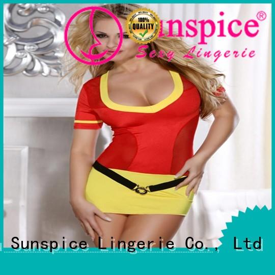 Top sexy firegirl costume costume supply for women