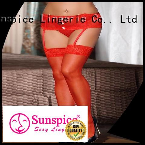 Sunspice h2115 fishnet pantyhose company for female