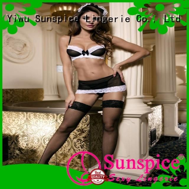 Sunspice sexy sexy maid lingerie factory for adults