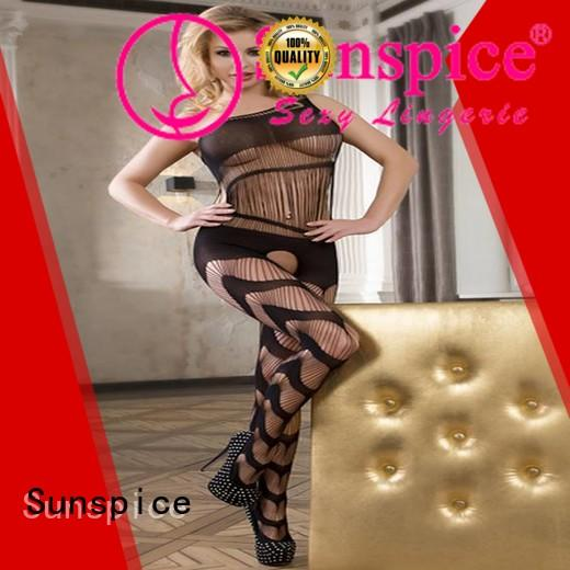 Sunspice catsuit lace bodystocking bodysuit manufacturers for women