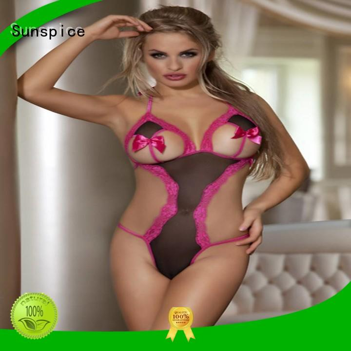 Sunspice New cheap teddy lingerie company for female