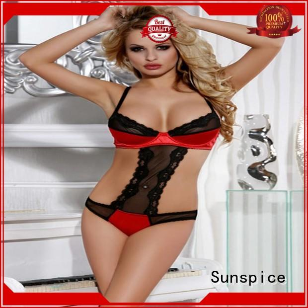 Sunspice Custom women's teddies underwear for business for ladies