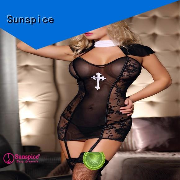 Sunspice professional the nun costume sexy adults
