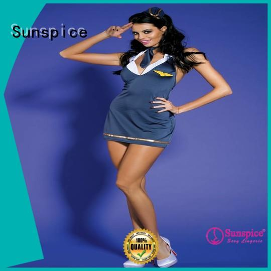 Sunspice sexy stewardess outfit suitable for ladies
