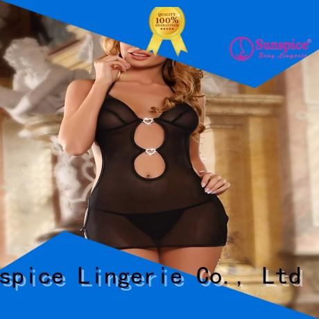 Sunspice lingerie underwire babydoll company for female
