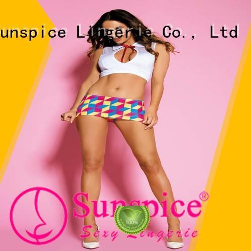 Sunspice New school girl costume lingerie suppliers for female
