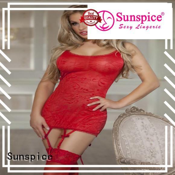 Custom underwire babydoll nighties lingerie factory for female