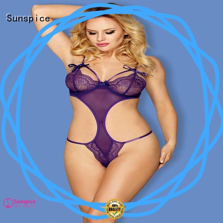 High-quality one piece teddy lingerie teddy supply for ladies