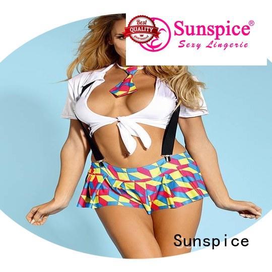 Sunspice school sexy school girl lingerie suppliers for women
