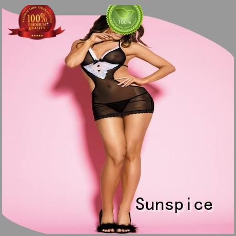 Sunspice Best sexy maid lingerie for business for female