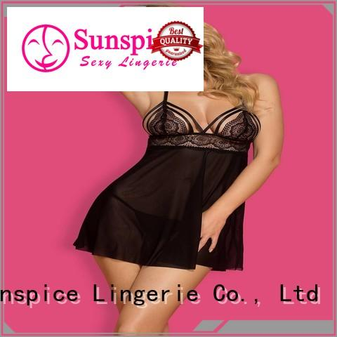 New babydoll chemise lingerie manufacturers for women