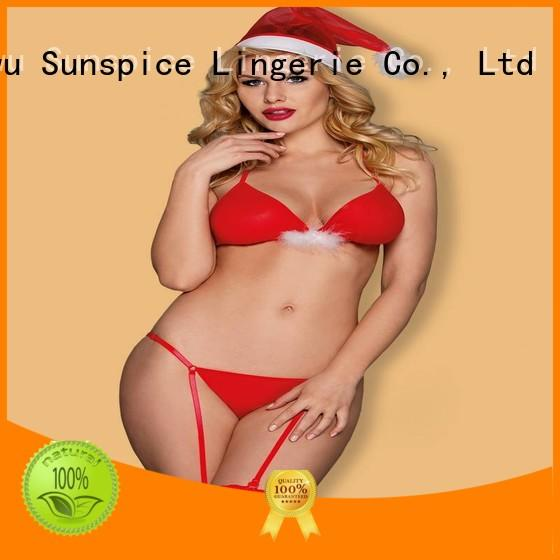 Best adult christmas lingerie christmas supply for female