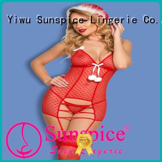 Sunspice Top cheap santa lingerie company for female